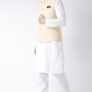 Nehru Jacket- Cream