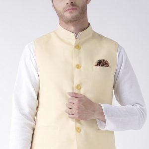 Nehru Jackets- Cream